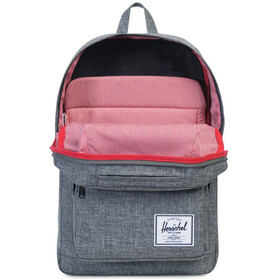 Herschel Pop Quiz Mochila, raven crosshatch